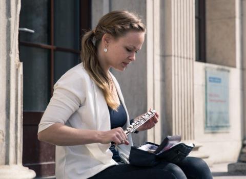 Fra fløjtenist til økonomistuderende