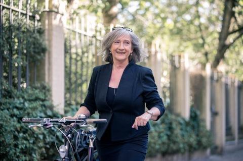 Sally Solskin har mod på megetmere